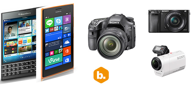 Byte Podcast 446 – BlackBerry Passport, Lumia 735 y cámaras fotográficas de Sony