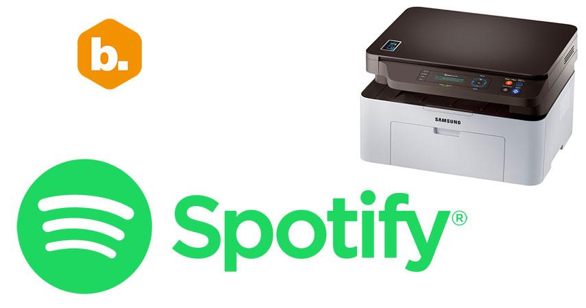 Byte Podcast 467 – El Nuevo Spotify, e impresoras Láser Samsung