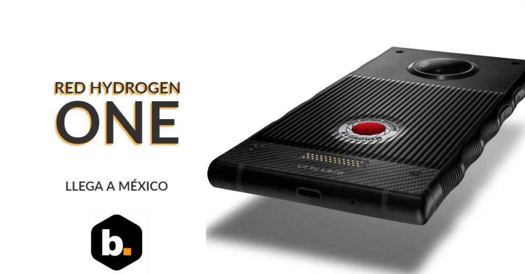 El smartphone Red Hydrogen One llega a México