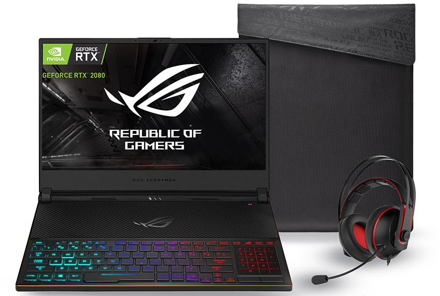 Asus presenta nuevas laptops gamers con NVIDIA GeForce en México